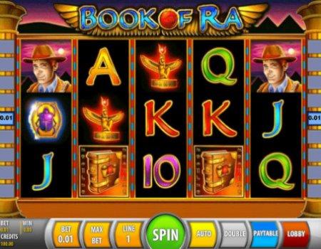 Игровой автомат Книга Ра (Book of Ra)